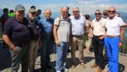 Turm, Herrenriege mit Hendrik, Helmut und Sepp